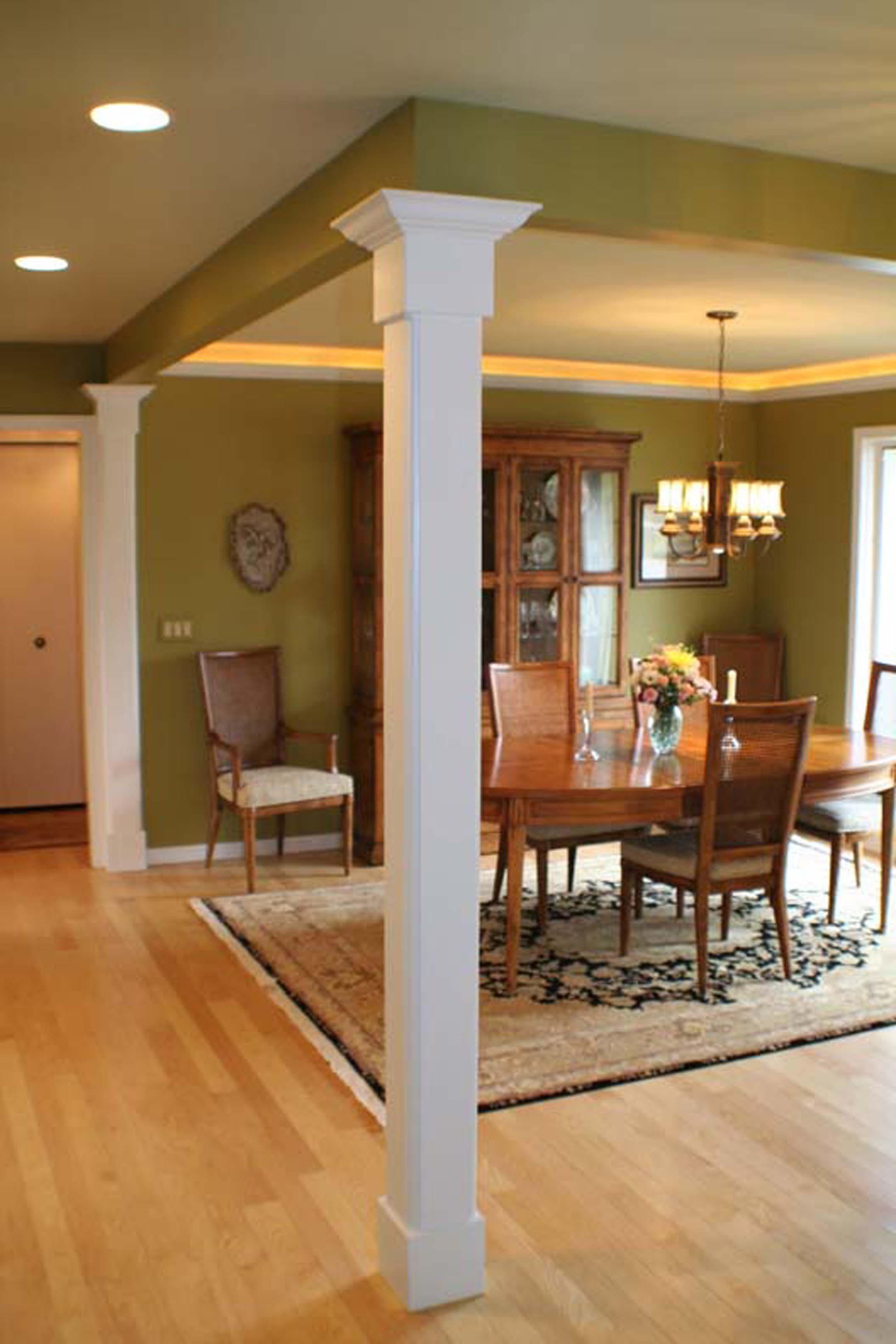 Interiors magnotta builders and remodelers - Pillars design in interiors ...