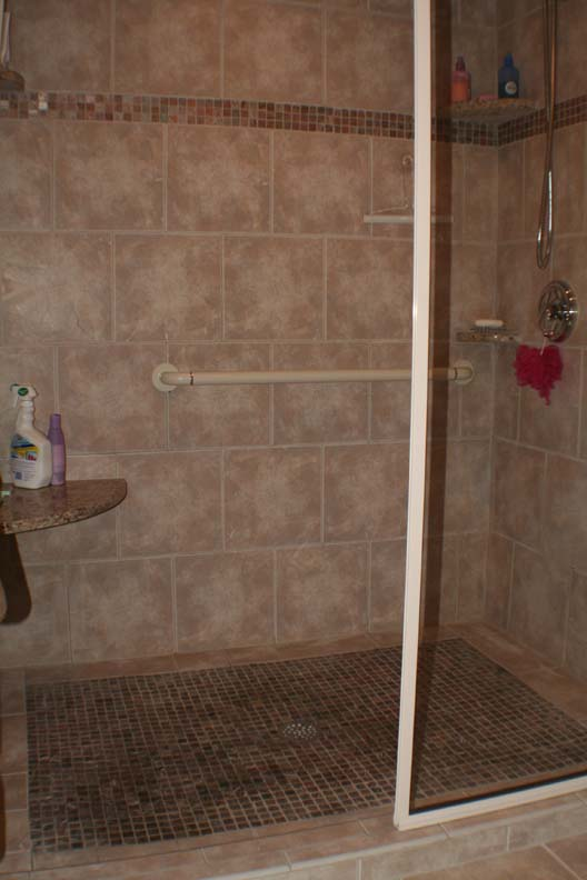 Tile shower magnotta builders and remodelers Bathroom tile showers