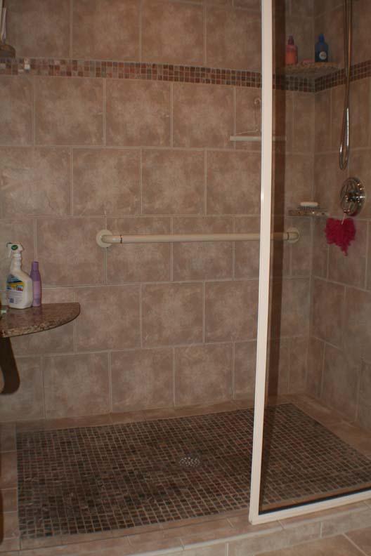 Tile Shower Magnotta Builders And Remodelers